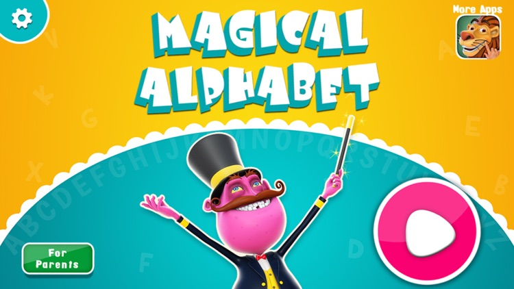 Magical Alphabet - Letters, Phonics, Spellings and ABC Videos for preschoolers and toddlers screenshot-0