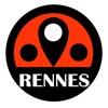 雷恩旅游指南地铁路线法国离线地图 BeetleTrip Rennes travel guide with offline map and paris val metro transit