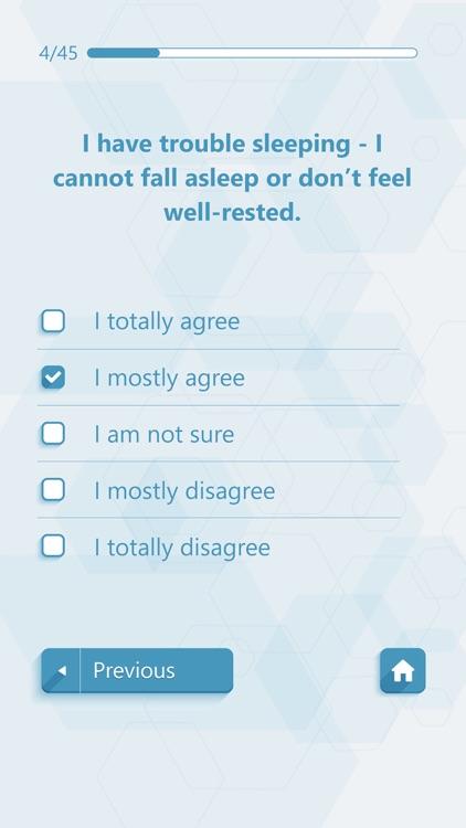 Self Assessment Psychological Tests