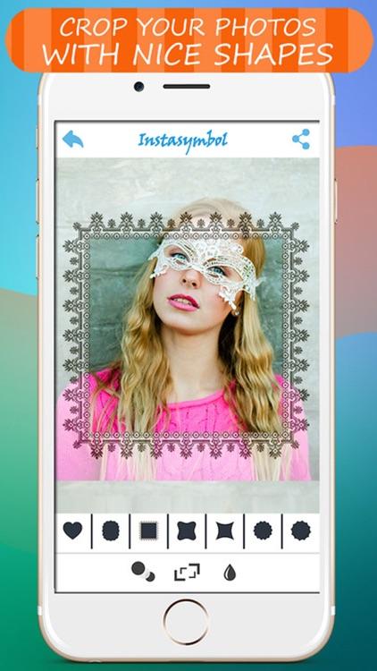 Color Frames & Nice Shapes Image Editor