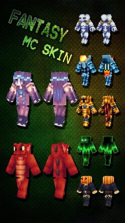 Best Fantasy Skins Pro - Skin Exporter for Minecraft Pocket Edition