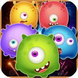 Sweet Monsters Fruit: Line Pop World