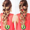 Women Hairstyles Step By Step - Easy Hairstyles For Girls