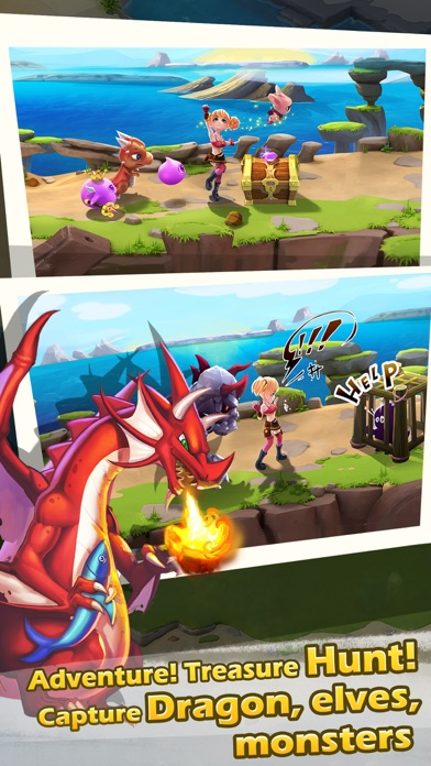 smashy animal city - feed pets by jam, build the dragon village-3