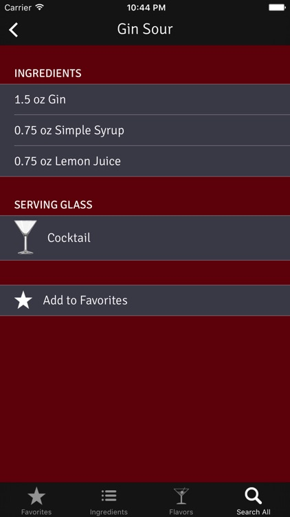 Pour: Cocktail Recipes for Home Bartenders screenshot-3