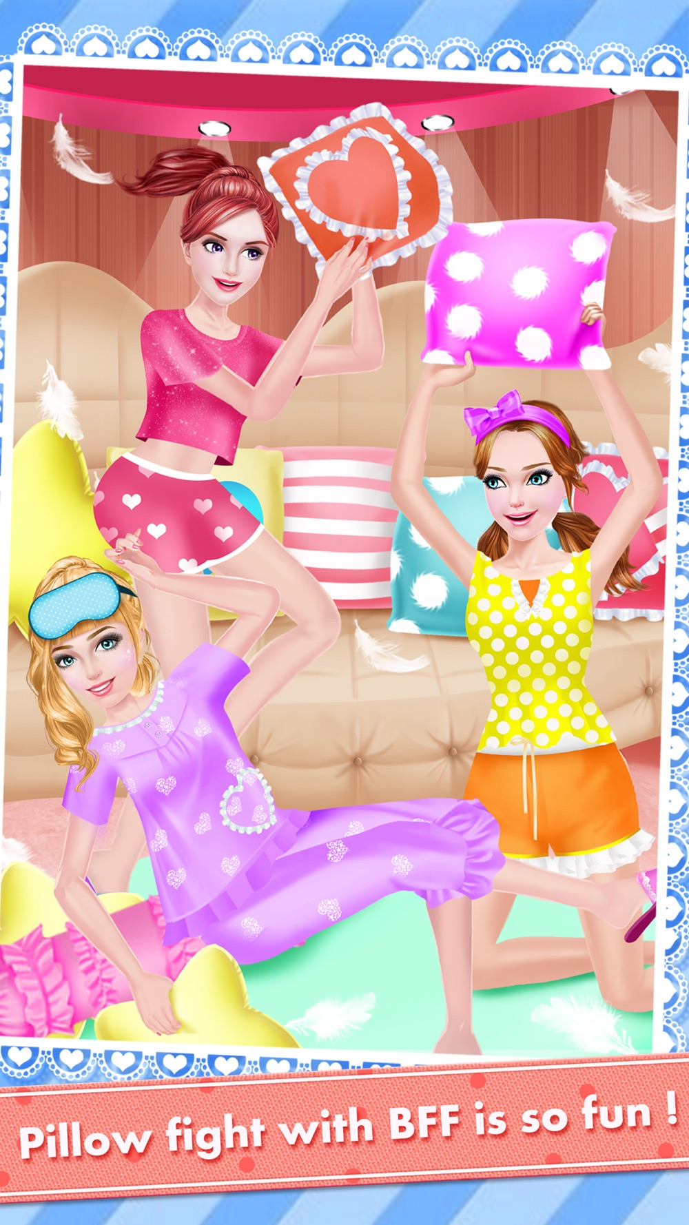 High School PJ Party - Girls Sleepover Salon with Summer SPA, Makeup & Makeover Games hack tool