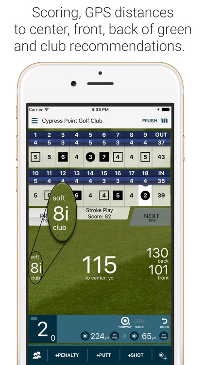 Golf Pad: Free Golf GPS screenshot-1