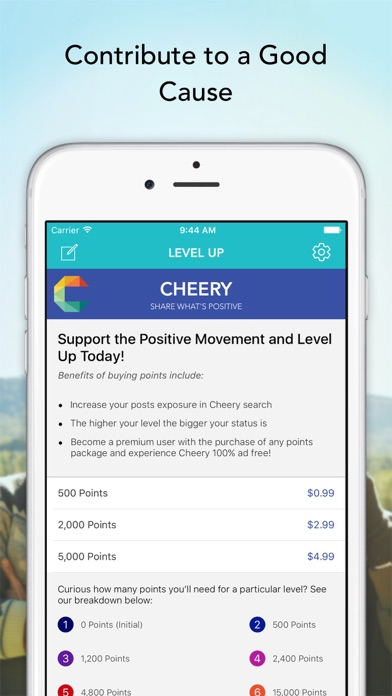 Cheery Network - Share What's Positive in Your Life screenshot three