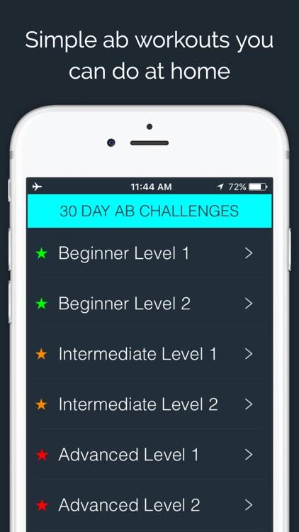30 Day - Ab Challenge screenshot-0