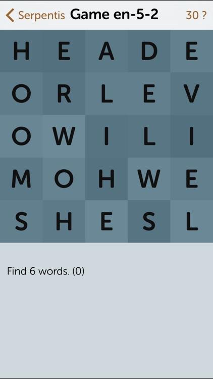 Serpentis: Words screenshot-4