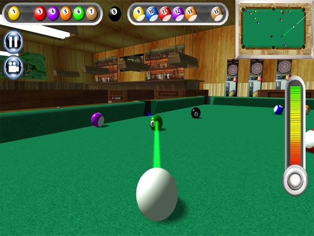 8 bóng bơi Bida 3D