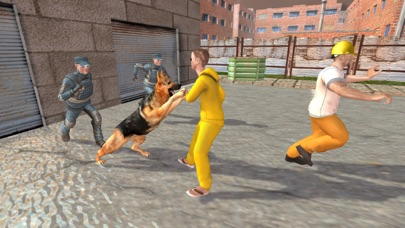 Police Dog City Prison Escape -   Chase & Clean City From Robbers, Criminals & Prisoners screenshot three