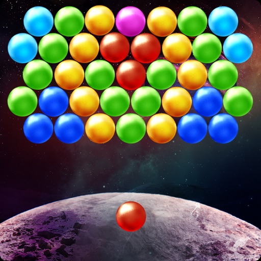Lunar Bubble Shooter