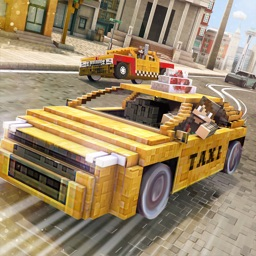 Taxi Simulator 2016 | Blocky City Car Driver Game For Free