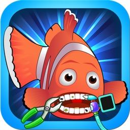 A Dentist at Sea - an underwater dental surgery game for fish and other marine animals