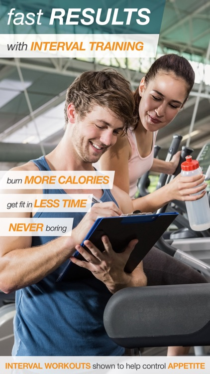 BeatBurn Elliptical Trainer - Low Impact Cross Training for Runners and Weight Loss screenshot-3