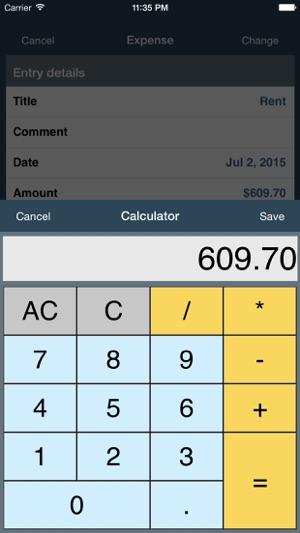 my budget calculator