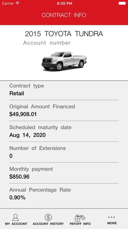 myTFS - Toyota Financial Services screenshot-3