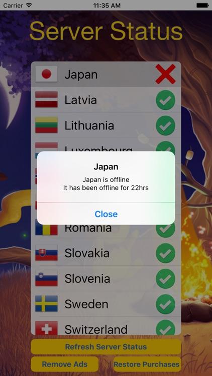 Server Status For Pokémon GO