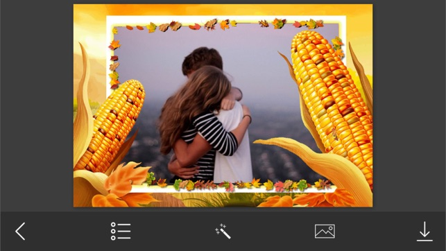 Thanksgiving Photo Frame - Amazing Picture Frames & Photo Editor on ...