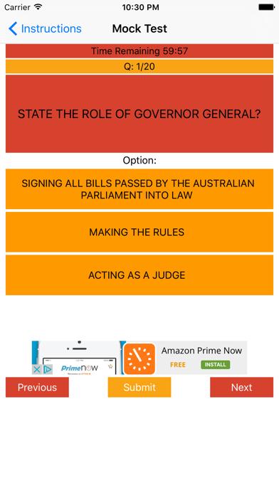 Australia Citizenship Test Pro - Free 500 Question | App