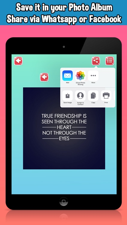 BFF Friends Quotes & Wallpapers - HD Friendship Backgrounds screenshot-3