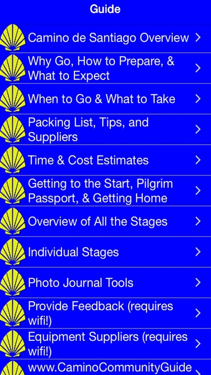 Camino Guide screenshot-1
