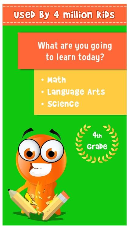 iTooch 4th Grade   Math, Language Arts, and Science