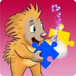 Riley the Porcupine's Puzzle Adventure