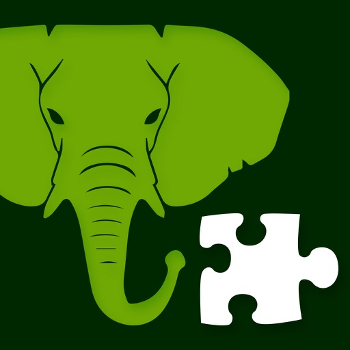 Animal jigsaw puzzle for kids