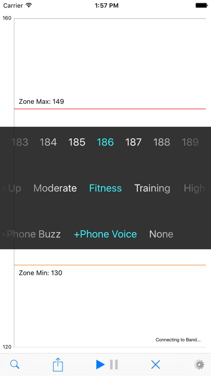 Heart Band - target zone monitor for exercise & training w/ finder tool screenshot-0