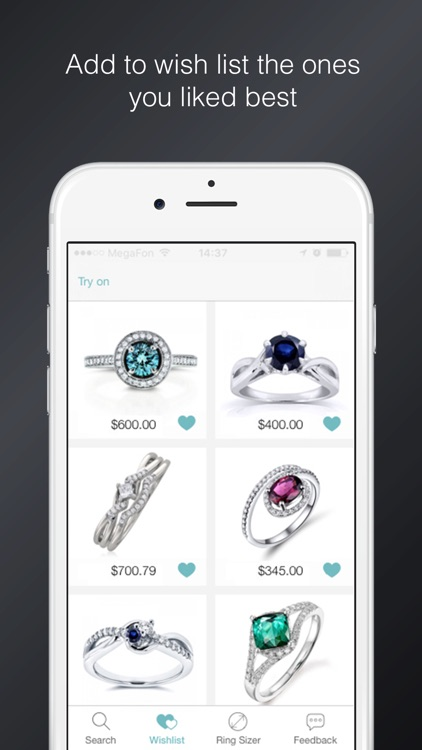Say Yes! - find and try on engagement rings screenshot-2