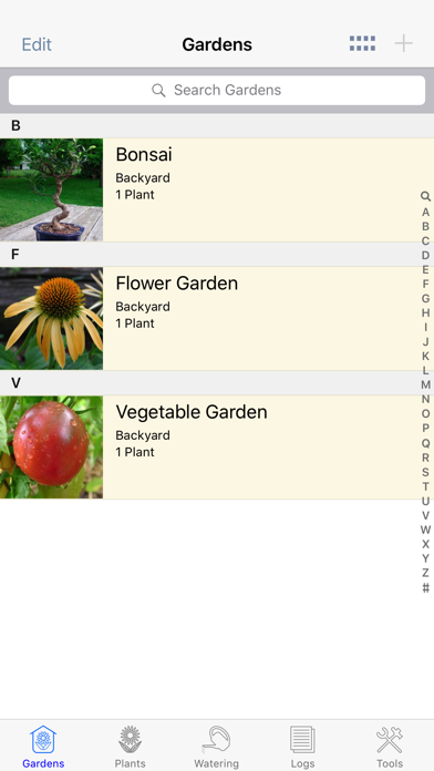 Plant Album Lite screenshot four