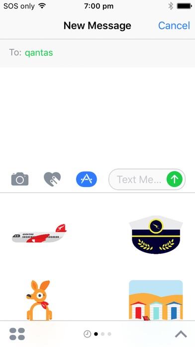 Qantas Stickers-0