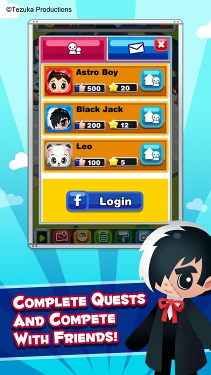 Tezuka World: Astro Crunch - Free Match 3 Game screenshot-4