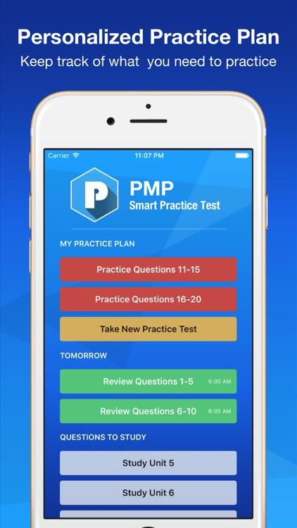 PMP Smart Exam Prep PLUS - Practice Test & Study screenshot-3