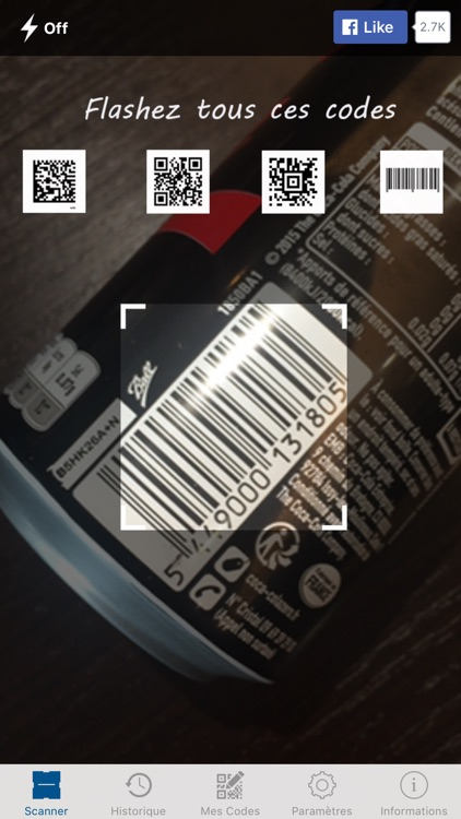 Mobiletag - QR Code Scanner screenshot-1