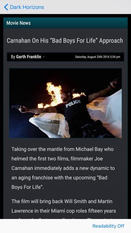Movie News - A News Reader for Movie Fans! screenshot-4