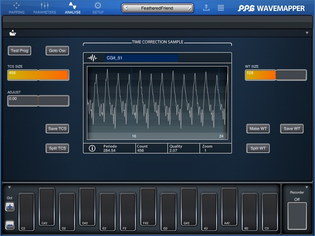 WaveMapper Screenshot