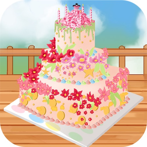 Marvelous Pretty Birthday Cakes Apps 148Apps Birthday Cards Printable Giouspongecafe Filternl