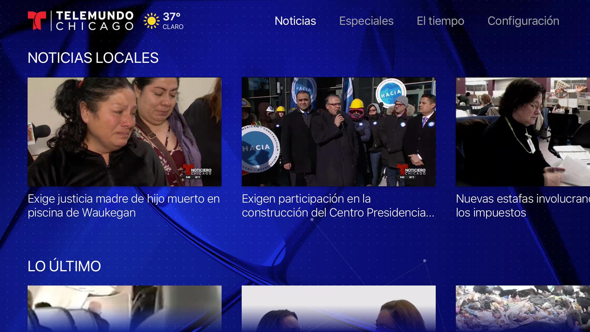 Telemundo Chicago screenshot 15