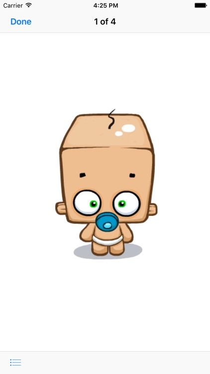 Blockhead Babies - Animated Stickers screenshot-3