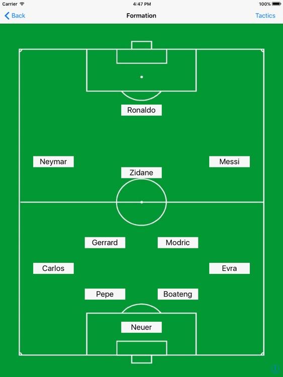Soccer Formation Light