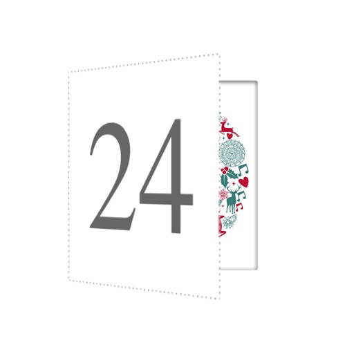 Advent Stickers