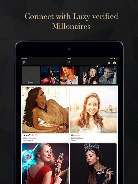 Luxy Pro- Seeking Elite Dating Screenshots
