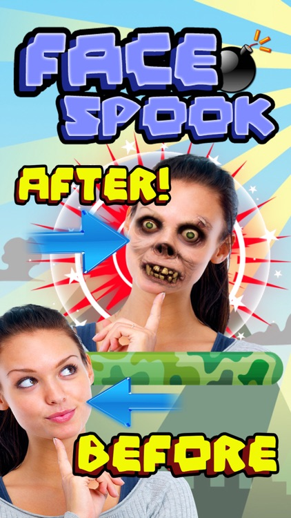 Face Spook - Spook your friends!