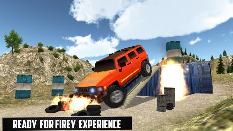 Offraod Hummer Jeep GT Racing Stunts screenshot-3