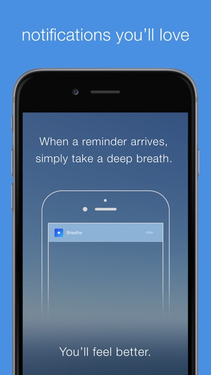 Breathe | Calming Reminders For Mindful Breathing