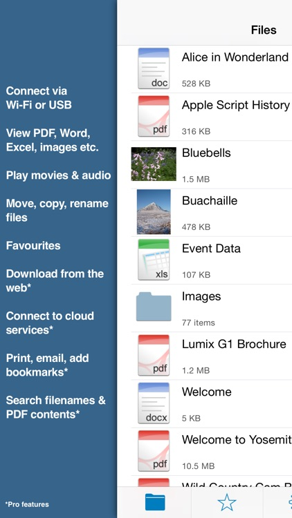 Files : Document & PDF Reader