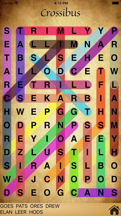Crossibus - Word Search